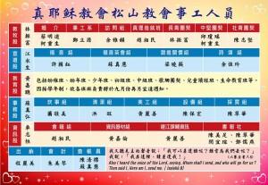 松山教會組織圖2014